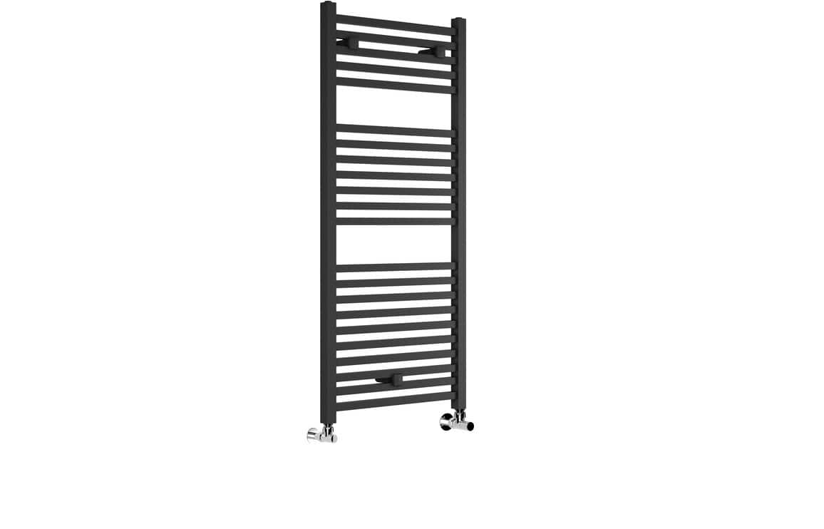 Bathrooms to Love Qubos 30 mm Square Ladder Radiator 500 x 1110 mm - Anthracite DIRA0192