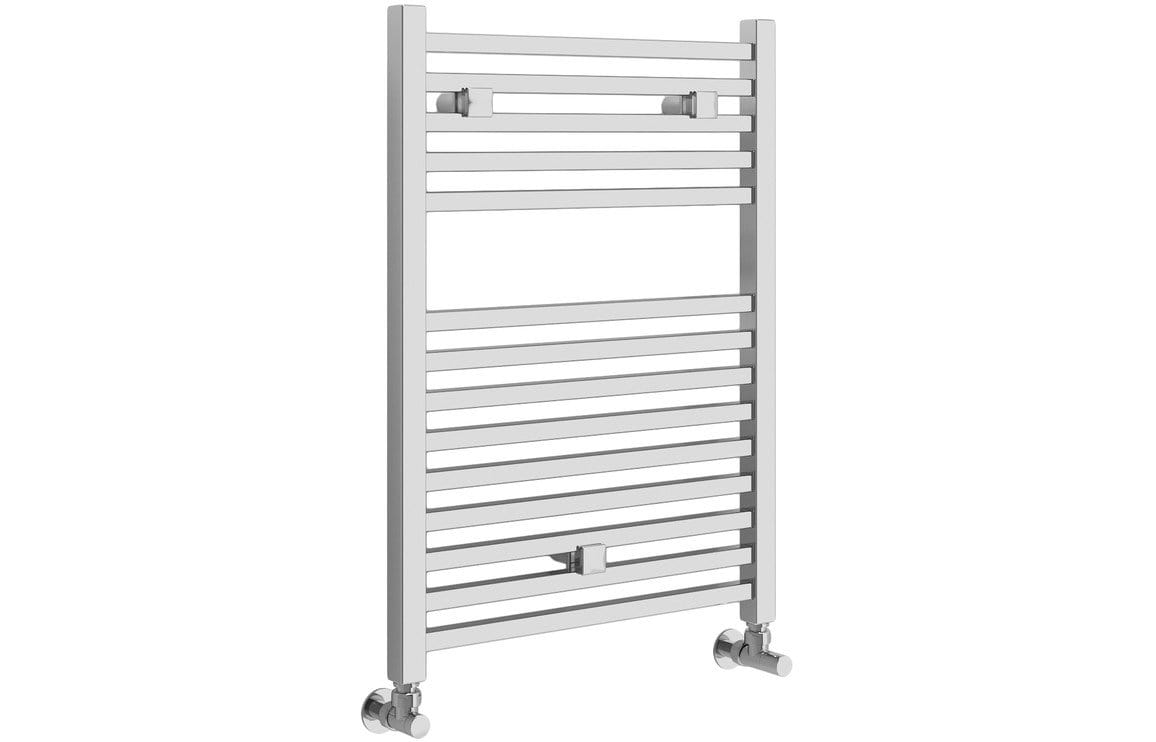 Bathrooms to Love Qubos 30 mm Square Ladder Radiator 500 x 690 mm - Chrome DIRA0184