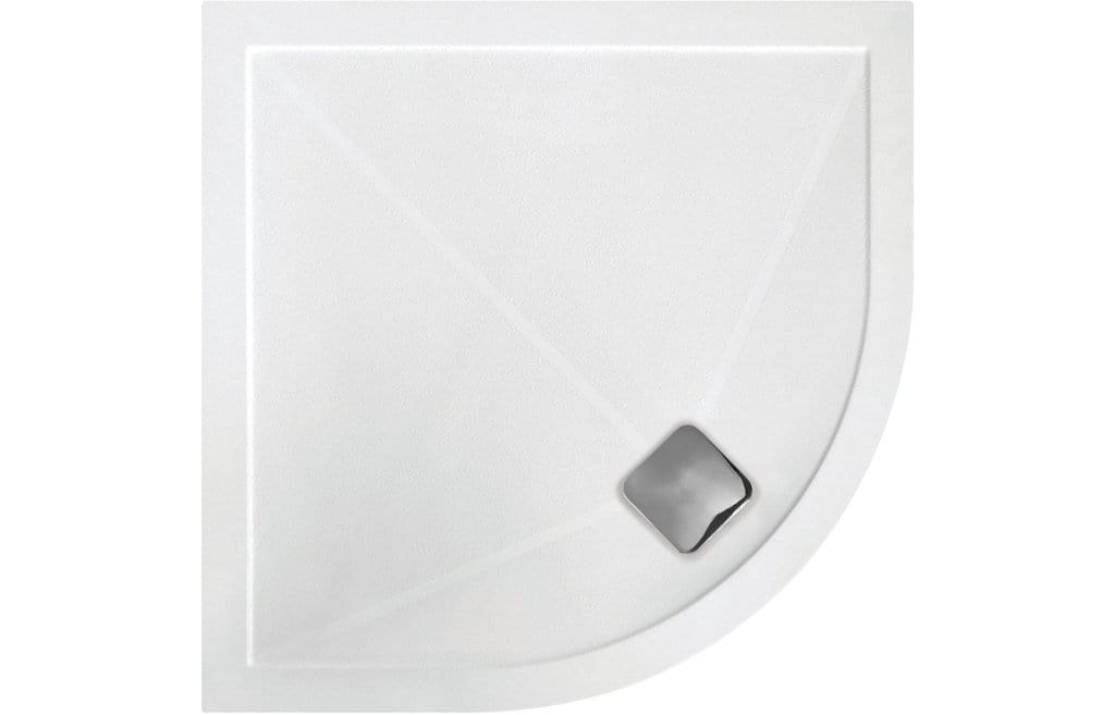 Bathrooms to Love RefleXion 25mm Anti-Slip Ultraslim 900mm Quadrant Tray DIETP9002