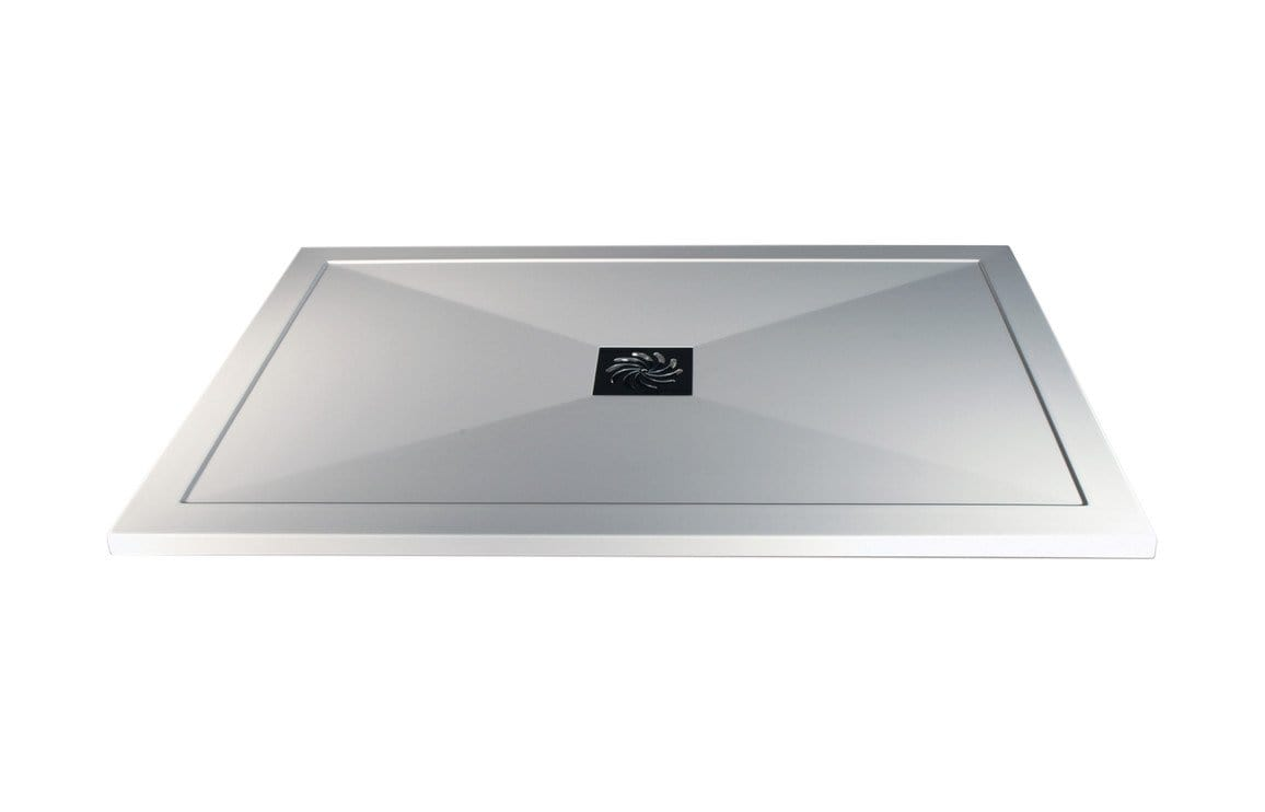 Bathrooms to Love RefleXion 25mm Ultra-Slim Rectanglular Tray & Waste