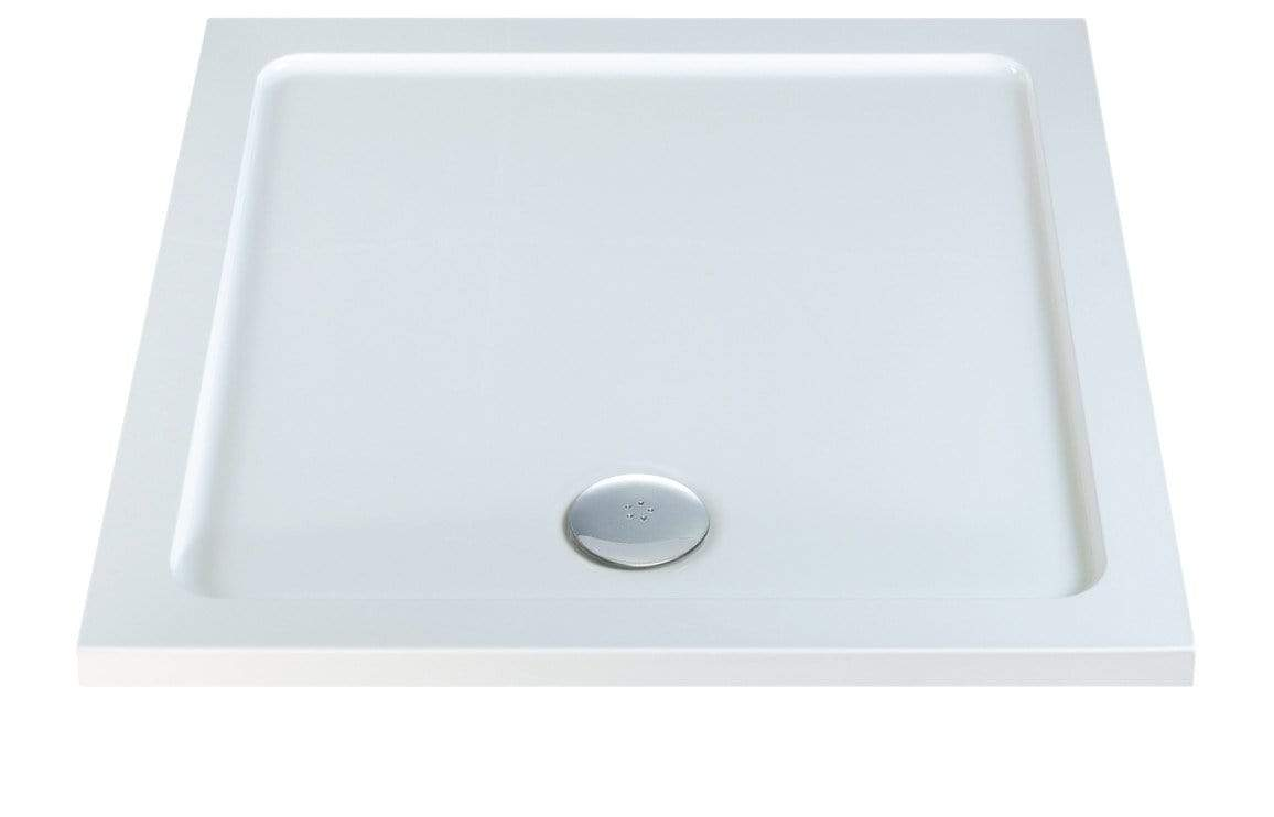 Bathrooms to Love RefleXion 40mm Slimline Square Tray & Waste