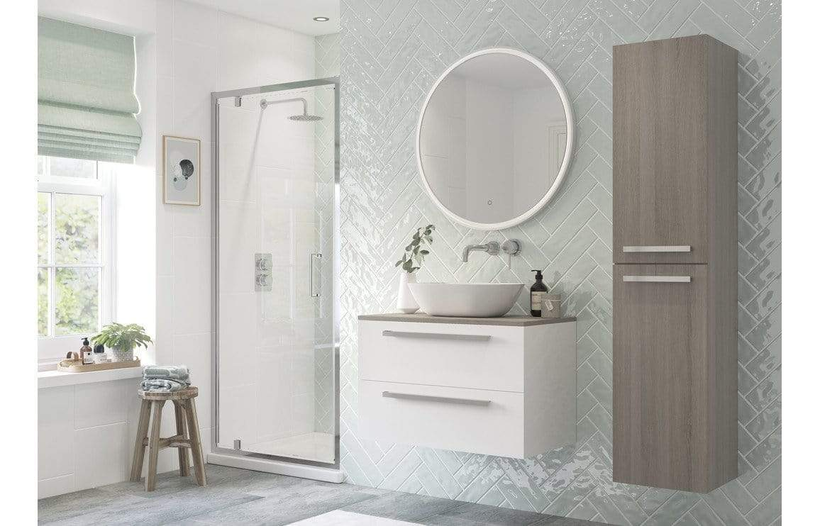 Bathrooms to Love Reflexion Flex Framed Pivot Door