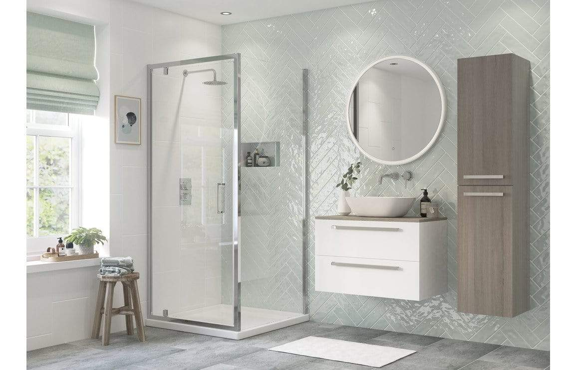 Bathrooms to Love Reflexion Flex Framed Side Panel