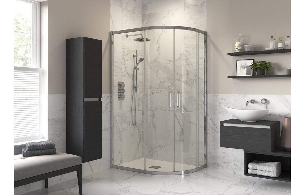 Bathrooms to Love Reflexion Iconix 2 Door Offset Quadrant