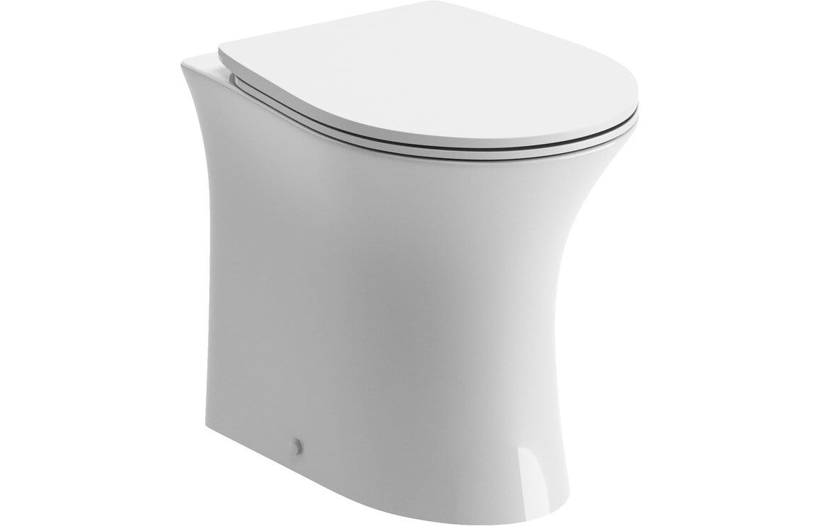 Bathrooms to Love Sandro Rimless Back to Wall Toilet with Soft Close Seat DIPTP0238