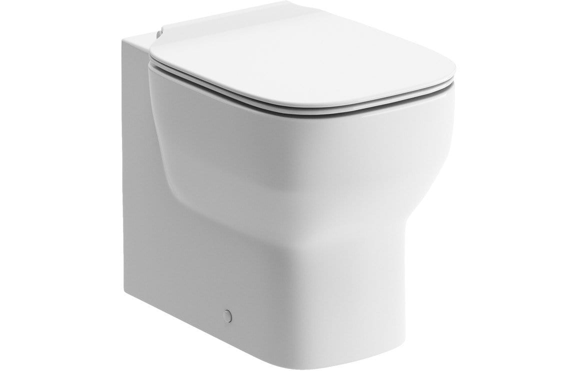 Bathrooms to Love Senna Back To Wall Toilet with Soft Close Seat DIPTP0212