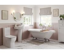 Bathrooms to Love Senna C/C Open Back WC & Soft Close Seat DIPTP0208