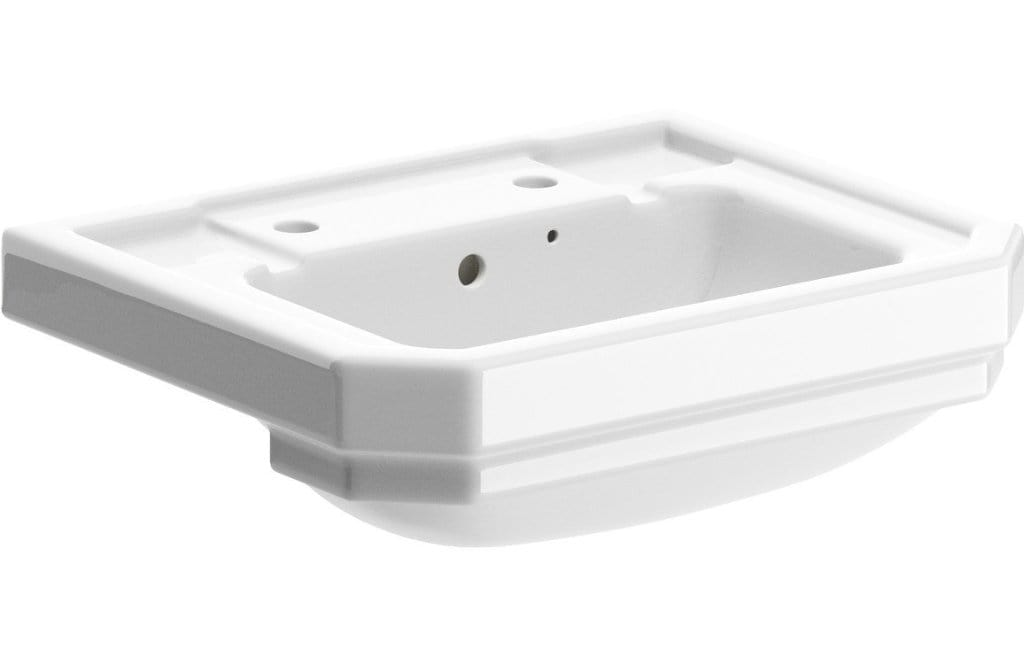 Bathrooms to Love Sherbourne 550x450mm 2TH Semi Recessed Basin DIPB2038
