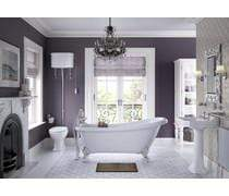 Bathrooms to Love Sherbourne Back To Wall Pan Only DIPP0140