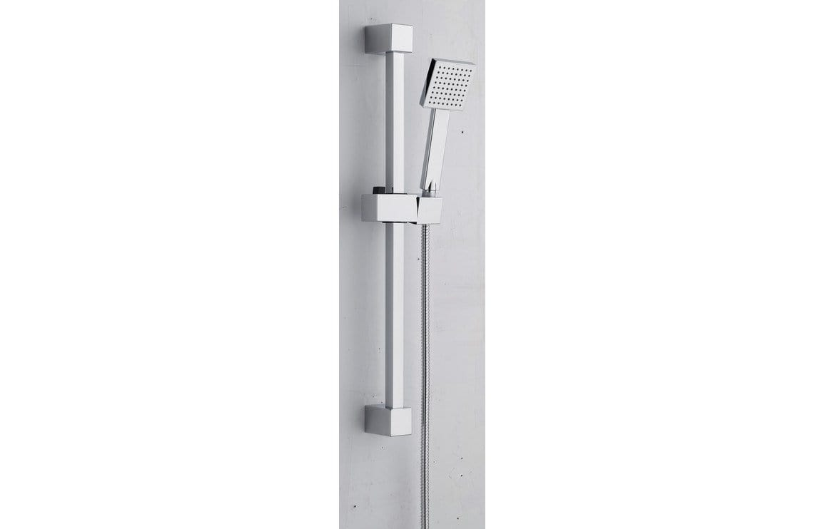 Bathrooms to Love Square Slider Rail Kit - Stainless Steel DICM0188