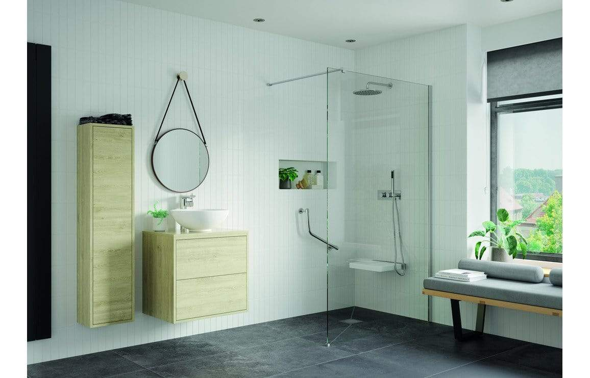 Bathrooms to Love Straight Grab Rail Chrome