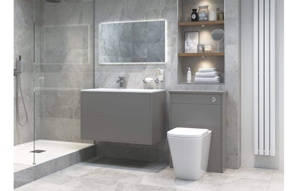 Bathrooms to Love Tilia Rimless Back to Wall Toilet with Soft Close Seat DIPTP0174
