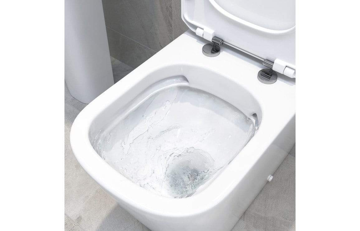 Bathrooms to Love Tilia Rimless Close Coupled Pan Only DIPP0144