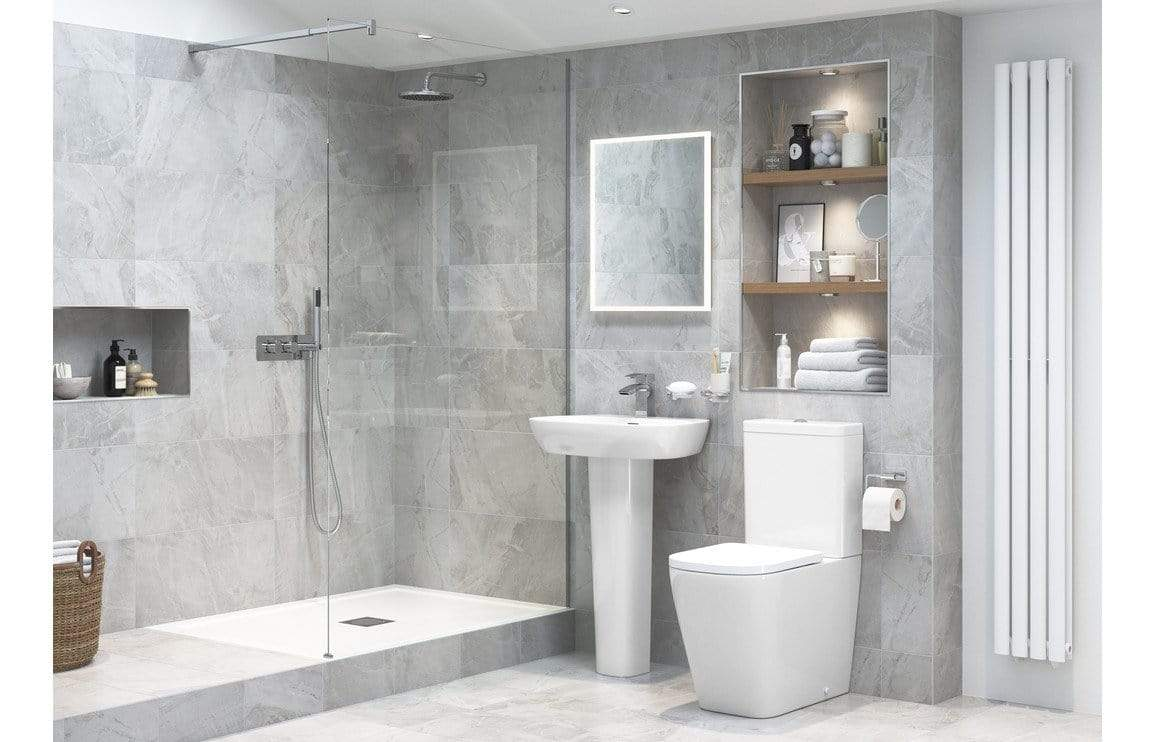 Bathrooms to Love Tilia Rimless Close Coupled Toilet with Soft Close Seat DIPTP0176