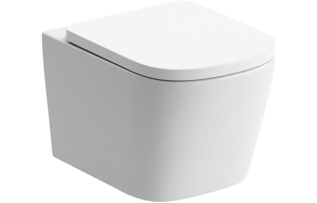 Bathrooms to Love Tilia Rimless Wall Mounted Toilet with Soft Close Seat DIPTP0178