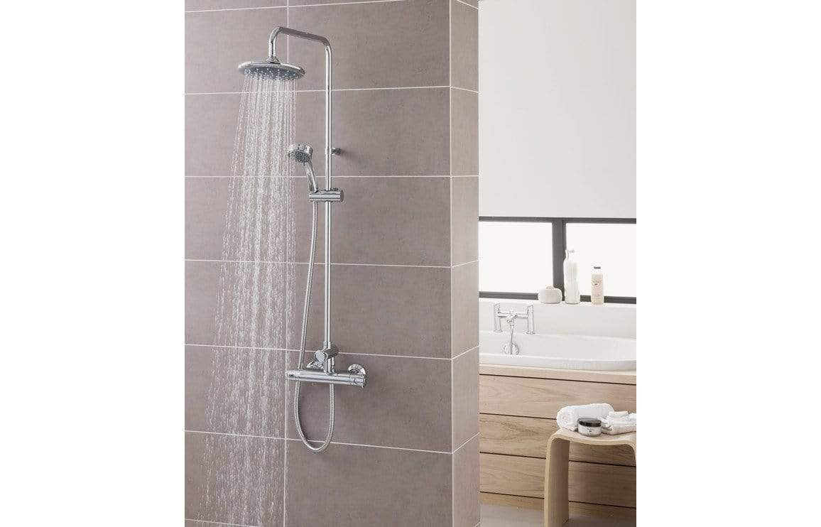 Bathrooms to Love Triton Dene Thermostatic Bar Mixer Shower with Diverter - Chrome DICM0262