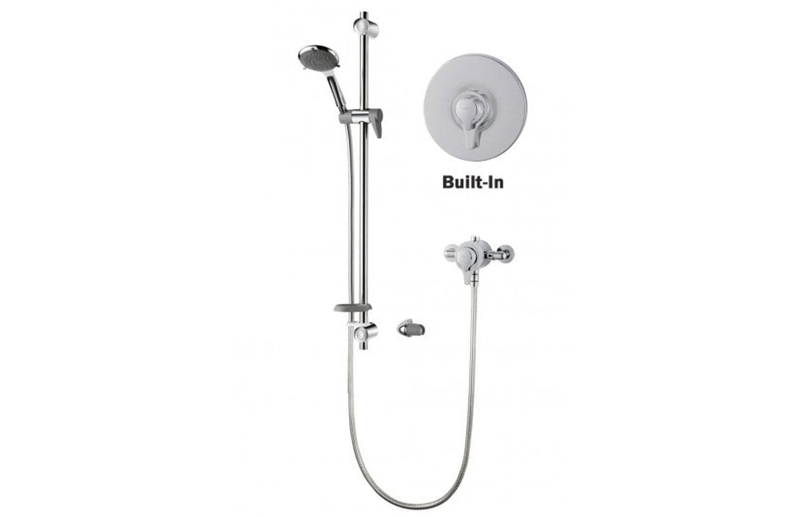 Bathrooms to Love Triton Unichrome Eden Thermostatic Exposed Built In Mixer DICM0066