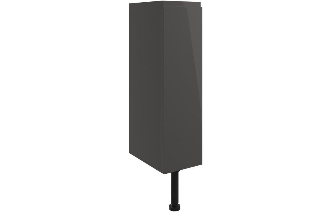 Bathrooms to Love Valesso 200mm Toilet Roll Holder - Onyx Grey Gloss DIFT1448