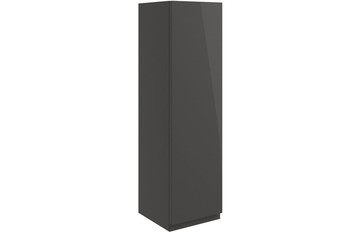 Bathrooms to Love Valesso 200mm Wall Unit - Onyx Grey Gloss DIFT1632