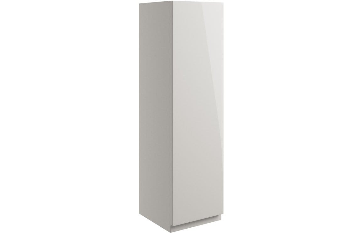 Bathrooms to Love Valesso 200mm Wall Unit - Pearl Grey Gloss DIFT1634