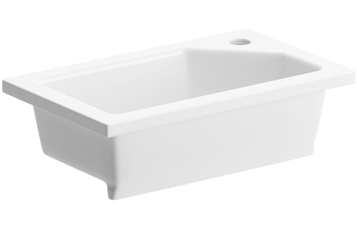 Bathrooms to Love Valesso 430x260mm Compact Inset Basin DIPB1206