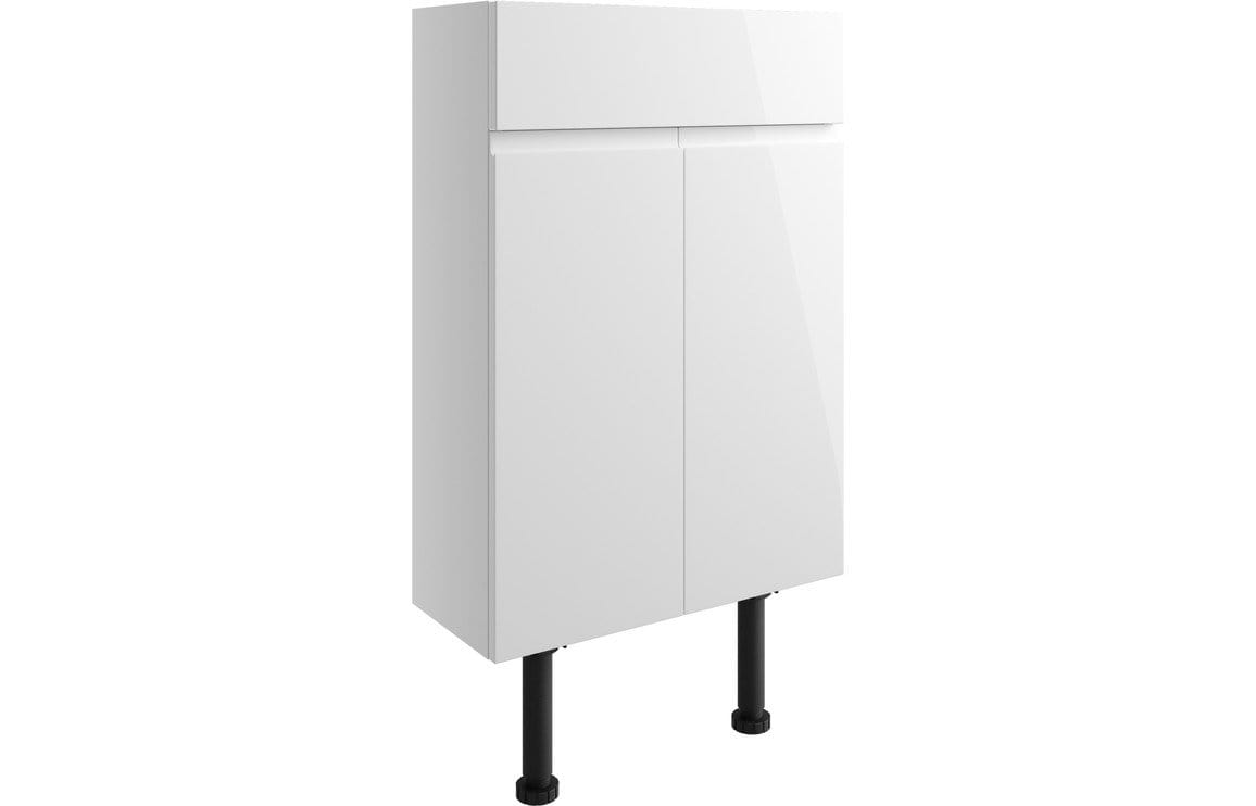 Bathrooms to Love Valesso White Gloss 500mm Slim Vanity Unit DIFT1506