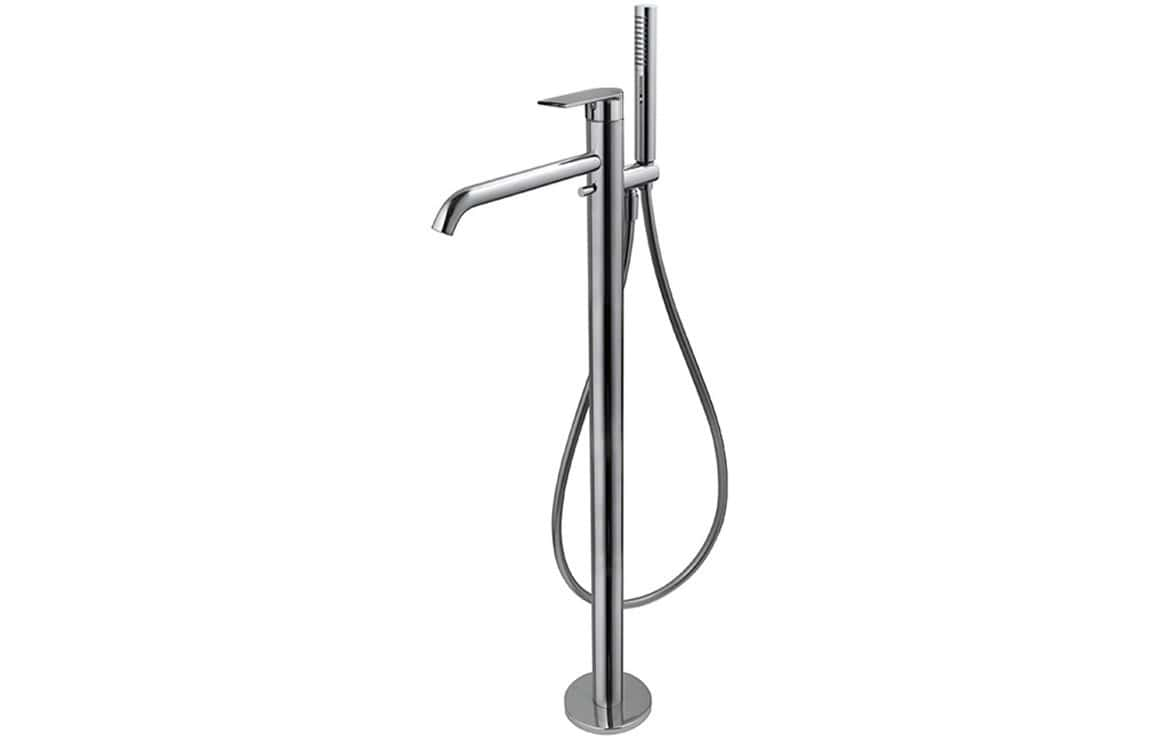 Bathrooms to Love Vema Timea Chrome Floor Standing Bath/Shower Mixer DITBP1002
