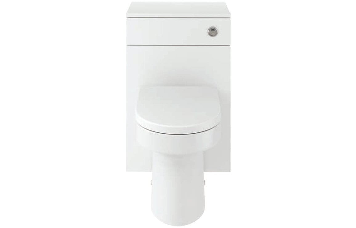 Bathrooms to Love Vista 500 mm Laurus WC Unit Pack - White Gloss DIFTP2070