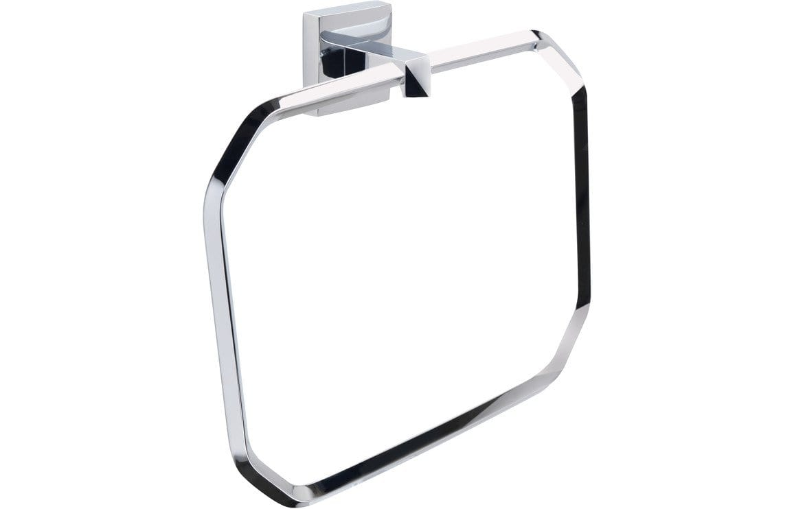 Bathrooms to Love Vitti Towel Ring - Chrome DIAC0084