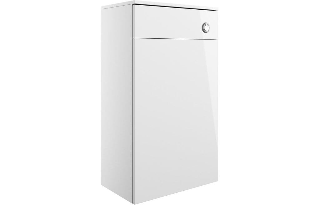 Bathrooms to Love Volta White Gloss 500mm Floor Standing WC Unit DIFT1150