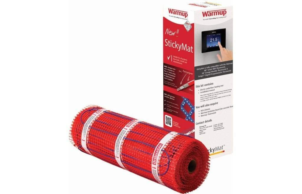 Bathrooms to Love WarmUp Sticky Mat 150 Watts - 3M² DIAC0026