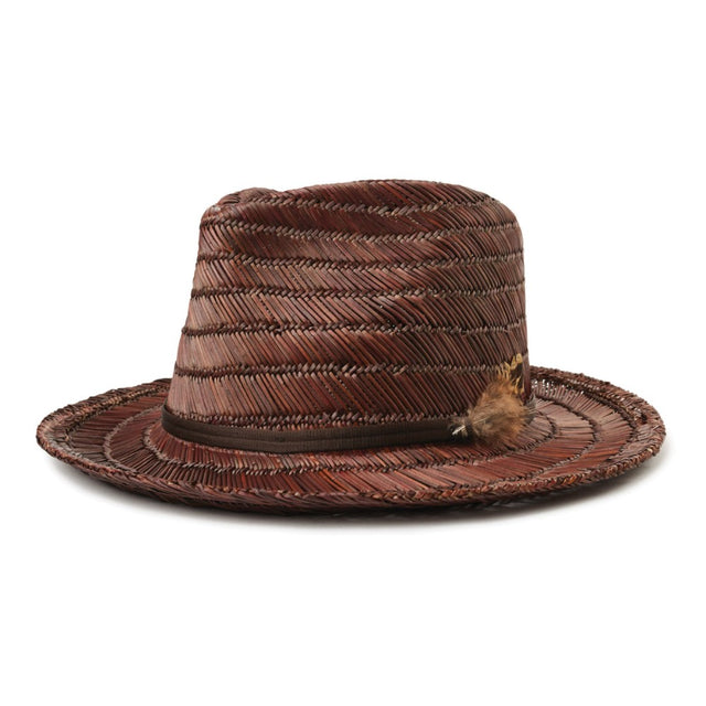 Crosby II Fedora Brown/Brown