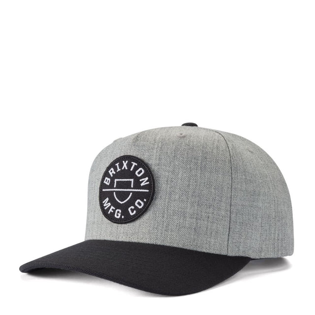 Crest C MP Snapback Heather Grey/Black