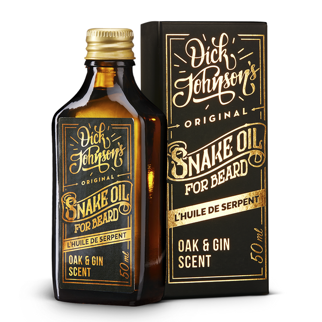 Partaöljy Snake Oil Oak & Gin 50ml