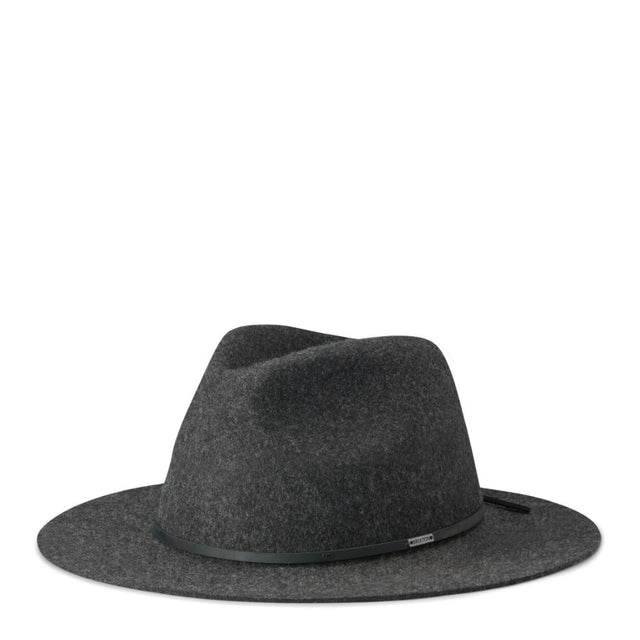 Wesley Fedora Heather Black