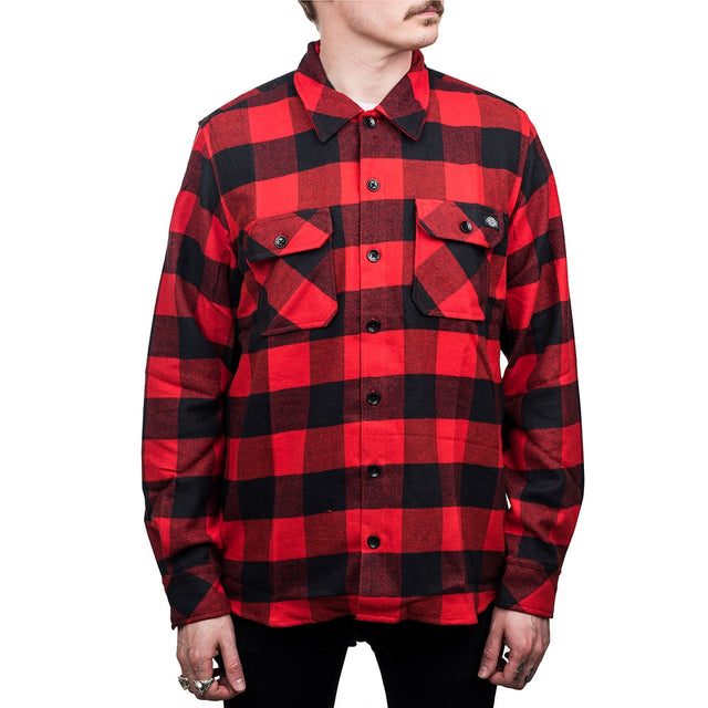 Flannel Shirt Sacramento Red