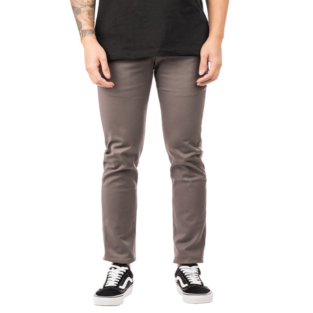 Work Pant Skinny 803 Gravel Gray