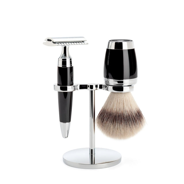 Shaving Set Stylo Black