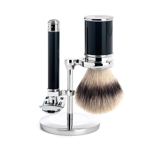 Shaving Set Traditional Black