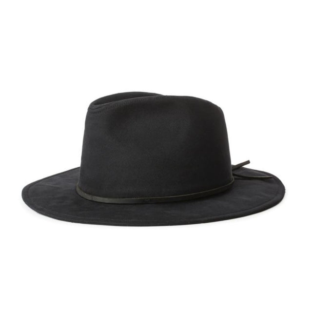 Wesley Cotton Fedora Black