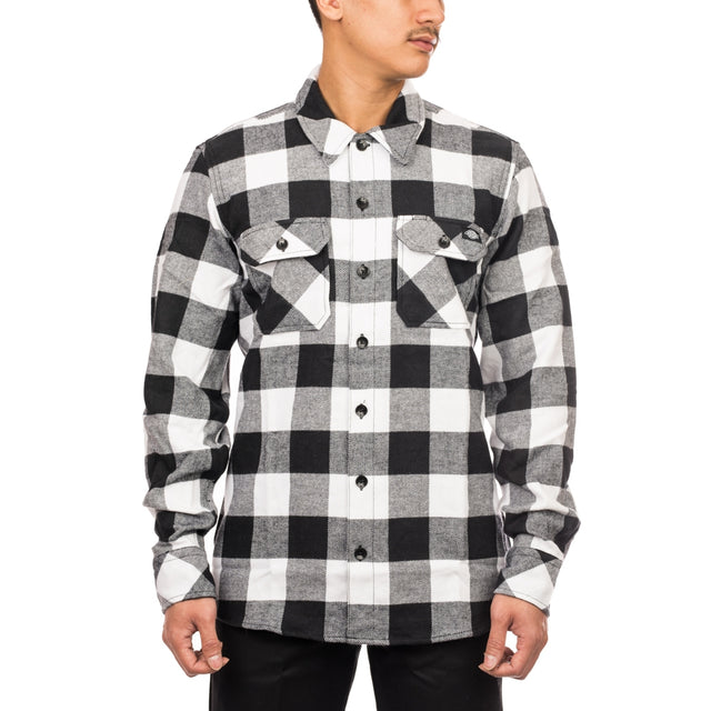 Flannel Shirt Sacramento Black