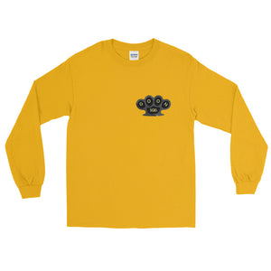 Knuckles Long Sleeve - Black & Yellow Print