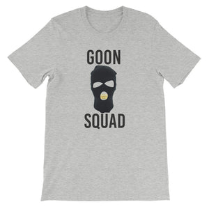 Ski Mask Way Tee - Black & Gold Print
