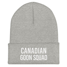 Canadian Goon Squad Cuffed Beanie - White Embroidery