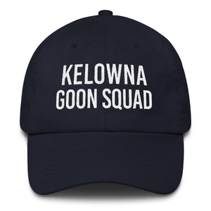 Kelowna Goon Squad Dad Cap - White Embroidery