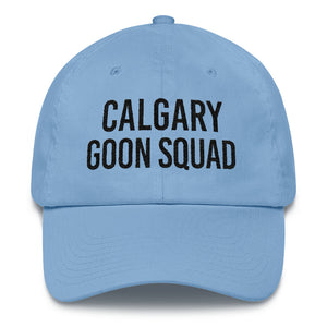 Calgary Goon Squad Dad Cap - Black Embroidery