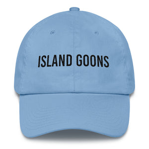 Island Goons Dad Cap - Black Embroidery