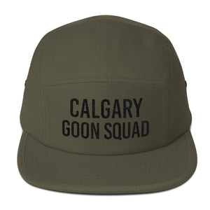Calgary Goon Squad Five Panel - Black Embroidery