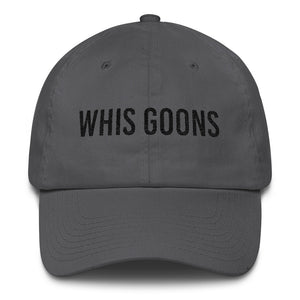 Whis Goons Dad Cap - Black Embroidery