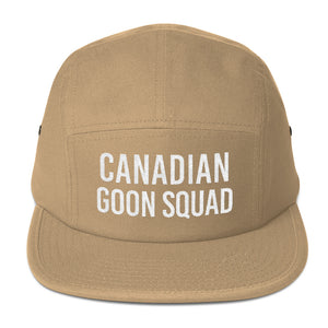 Canadian Goon Squad Five Panel - White Embroidery